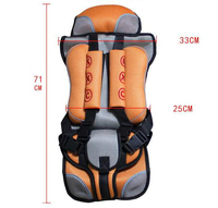 Free Shipping Portable Durable Comfortable 1 Pc Child Safety Seats Baby Car Seat Cushion T01