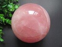 Natural Stone Gemstone Rose Quartz Sphere Crystal Ball 10MM Chakra Healing Reiki Stone Carving Crafts