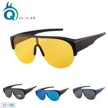 Over Glasses Sunglasses Fishing Sun Glasses for Women & Men with UV400 Polarized lens – Fit Over Polarized Lens Cover Sunglasses