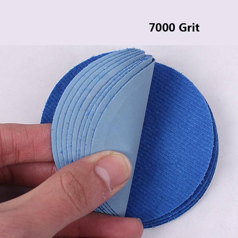 Nagykereskedelem 20db 3 hüvelykes pelyhesítő vízcsiszolópapír - Csiszolószerszámok - Fénykép 4