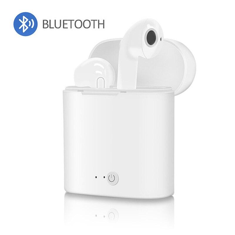I7s TWS Sport Bluetooth Headset mit Stereo Drahtlose Mikrofon Wireless Headset Kopfhörer für iPhone X Smart Telefon Xiaomi