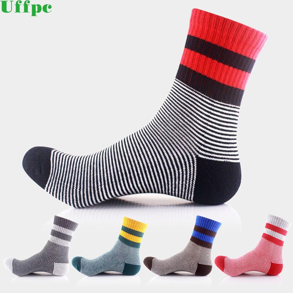 5pairs/lot Cotton Men Socks Fashion Week Long Socks Anti-Bacterial Comfortable Deodorant Happy Casual Boys funny Socks