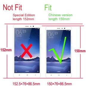 Image 5 - 100% オリジナル Xiaomi Redmi 注 3 プロケース Pu レザーメタル Xiaomi Redmi 注 3 カバー電話ケース Xiomi note3 Redmi 150 ミリメートル