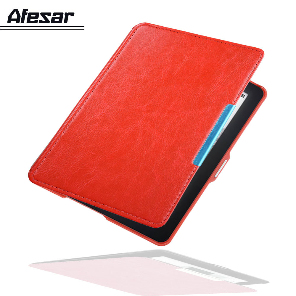 Modelo N613 ebook Flip funda para Kobo glo 6 pulgadas Rakuten ebook ereader pu piel cubierta de bolsa con magnético clausurado sueño