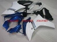 Fairings for CBR600 F 2011 2013 Fairing CBR600 F 13 White Blue Motorcycle Fairing CBR600 F 11