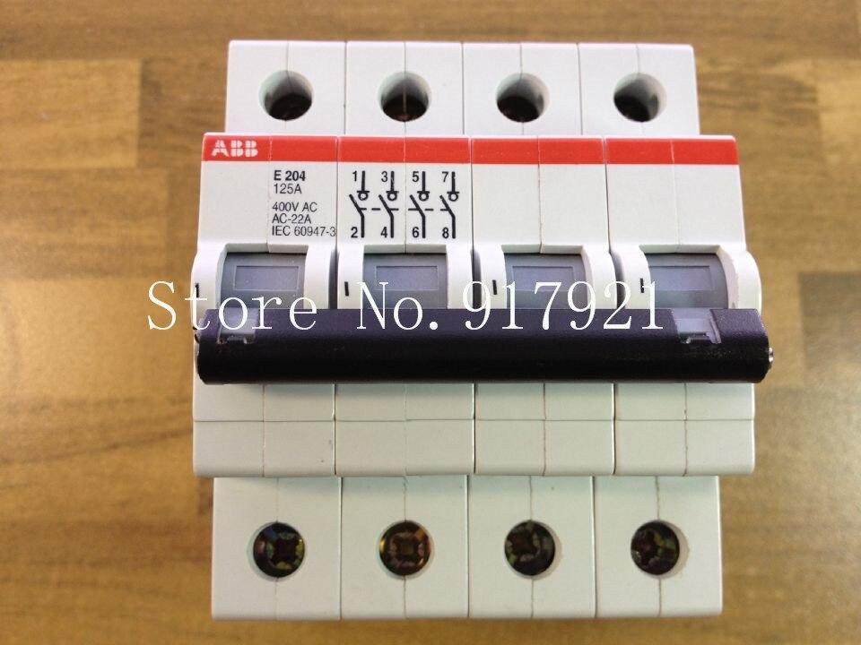 [ZOB] The original original E204 125A 4P125A (Portugal) isolation switch to ensure genuine [zob] the original original a63 30 ac contactor 220v 380vac ensure genuine original