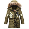 2016 children's winter jackets For Boy Casual Kids Winter Jacket Children Fur Hooded Thick Warm Outerwear Boys Winter Coats