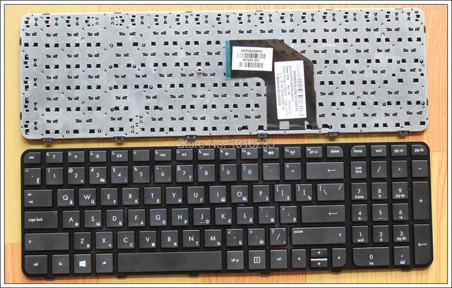 Novo teclado russo para hp pavilion g6-2000 series g6z-2000 ru preto do teclado do portátil com quadro