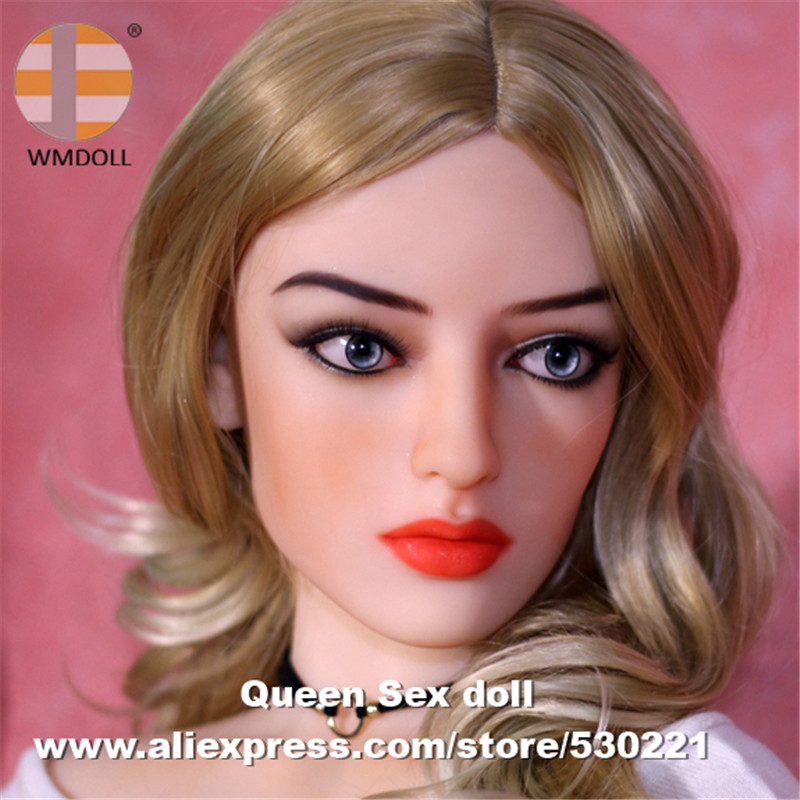 WMDOLL Top Quality Japanese Sex Dolls Head For Real Silicone Doll Love Doll Heads With Oral Sexy Masturbator Adult Sex Toys wmdoll top quality silicone sex doll head for real human dolls real doll adult oral sex toy for men