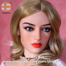 WMDOLL Top Quality Japanese Sex Dolls Head For Real Silicone Doll Love Doll Heads With Oral Sexy Masturbator Adult Sex Toys