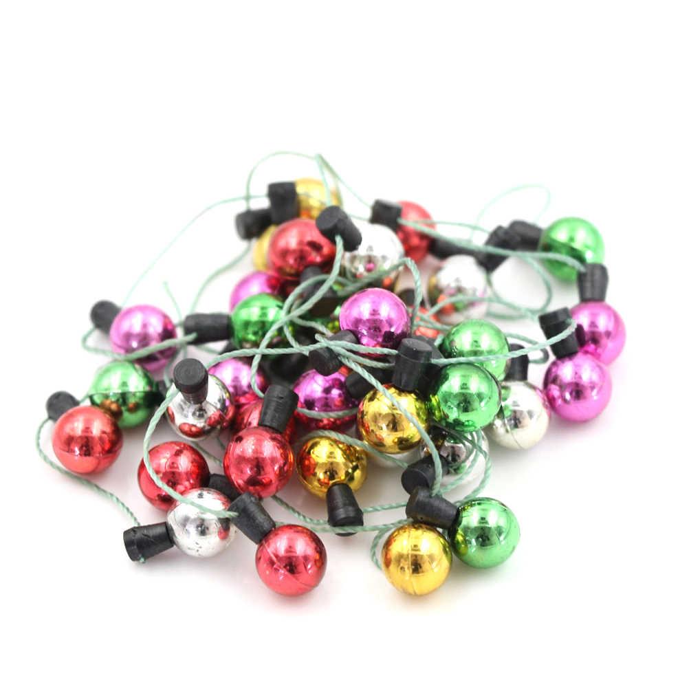 1/12 Skala 1 String Von Gefälschte Lichter Weihnachten Gute Dekoration Puppe Haus Miniatur Möbel Zubehör String Lichter