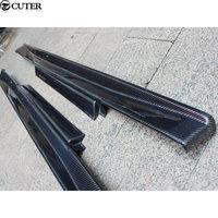 GTR GT R R35 carbon fiber side skirts For Nissan GTR R35 car body kit 08 13