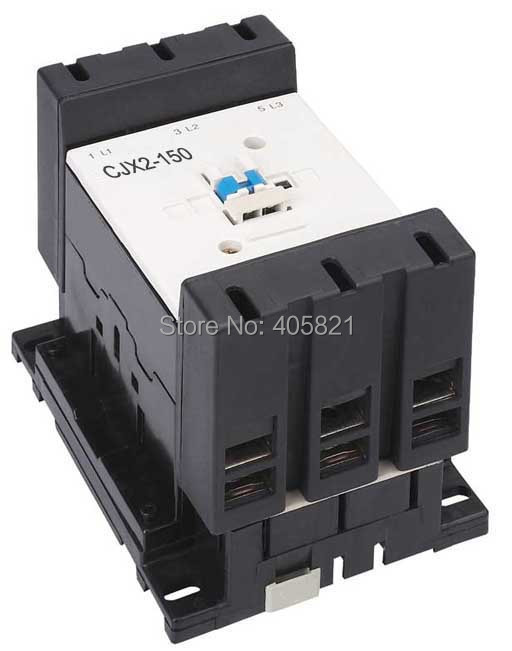 Best quality AC Contactor CJX2-150 150A 3P used for ac motor free shipping superior quality contactor cjx2 0910 9a ac 220v 3p no contactor cjx2 09 lc1 d09 series 220vac ac contactor