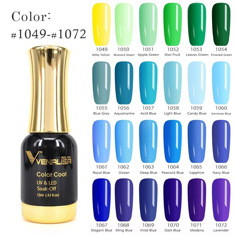 60751 Venalisa New Nail Art Products 12ml Makeup UV Nail Gel Nail ...
