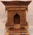 """Coleccionable de bronce S1232 16 """"Tíbet Budismo 8 Auspicioso Símbolo Del Dragón de Bronce Clásico Santuario Estatua B0403"""