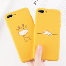 Zagter yellow candy Cover For iPhone 6 7 8 Plus X XR XS Max