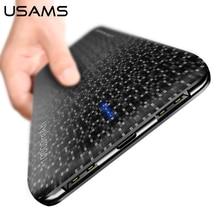USAMS 10000mAh power bank External battery dual USB output powe bank Universal powerbank