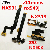 Top Quality USB Dock Charging Charger Flex Cable For ZTE NUBIA Z11 NX531J Z11 Mini S