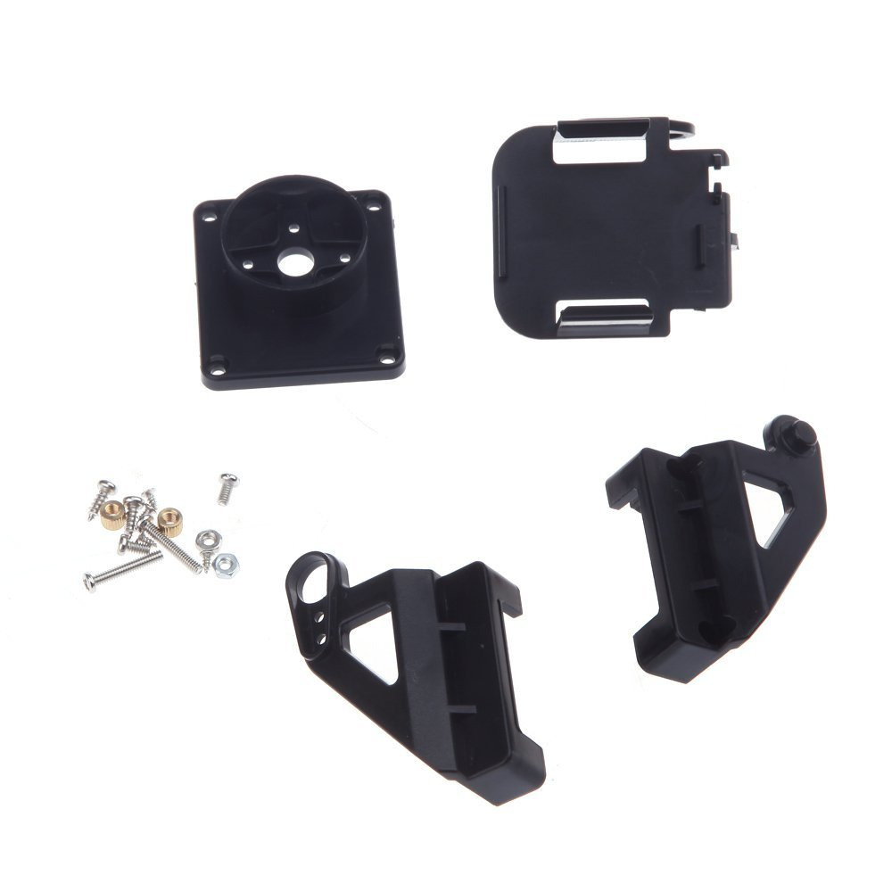 Plastic Pt Kit Pan/tilt Camera Platform Anti-vibration Mount For Rc