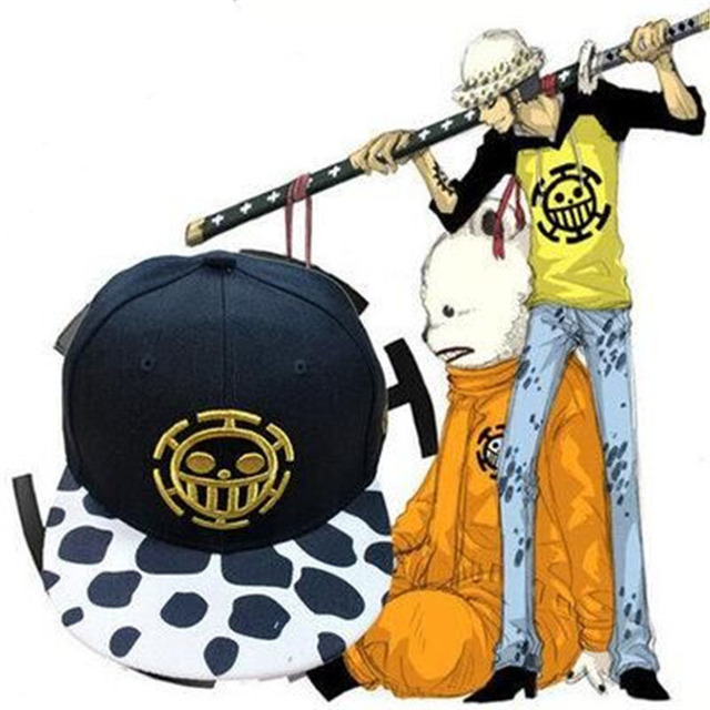 One Piece Monkey D. Luffy Hip-Hop Cap