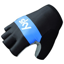 New arrival!Cycling Gloves 2016 Pro Team Sky Summer Bike Bicycle gloves GEL Pad Shockproof outdoor Sports Half Finger Gloves