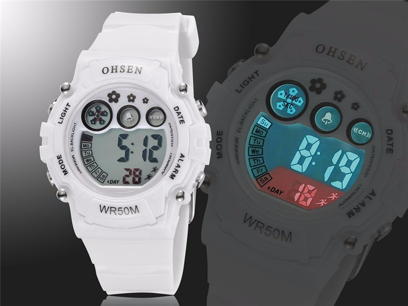 New Ohsen Unisex Watch Fashion Casual Watches Relogio Masculino Students Sports For Men Women Water Resistant Alarm Wristwatches (19)