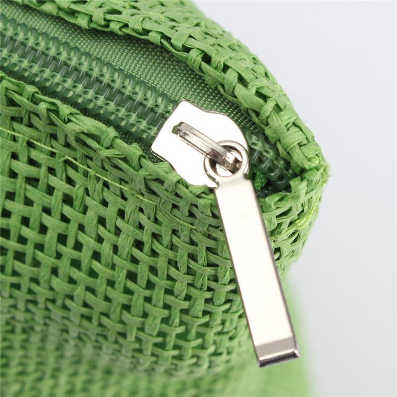 2017 Hot New Design Straw Popular Summer Style Weave Woven Shoulder Tote Shopping Beach Bag Purse Handbag Gift FreeShipping N770 14