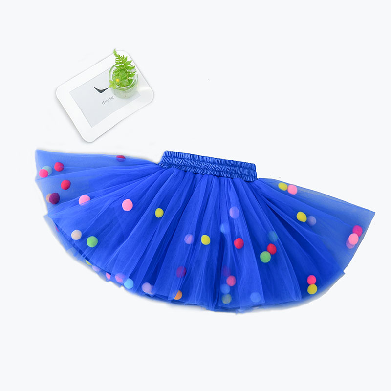 Infant Tutu Skirt Baby Girls Mini Dress with Balls Girls Tutu Skirt Princess Party Ballet Dance Skirt Newborn Baby Skirt customized girl blue bird ballet tutu dresses ballet dress design dance tutu best selling anna shi classical spandex stage tutu