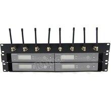 1U raf montaj, raf tepsi kutusu, Patch Panel, anten kablosu uzatma SLX4 288 sennheiser ew100G2 G3 ew135 G2 G3 kablosuz mikrofon
