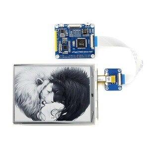 Image 2 - Waveshare 6 inç e mürekkep ekran HAT ahududu Pi 800*600 çözünürlük e kağıt IT8951 denetleyici USB/SPI/I80/I2C arayüzü