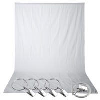 Neewer 1 5 X 3M PRO Photo Studio 100 Pure Muslin Collapsible Backdrop White Background 5