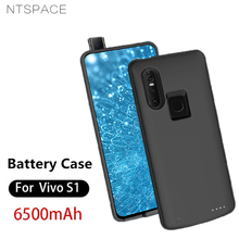 NTSPACE Portable Power Bank Pack Charging Cover Case For VIVO S1 Battery 6500mAh Ultra Thin Extenal Charger Cases
