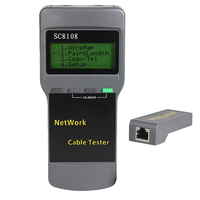 SC8108 RJ45 Network Tester LAN Length Cable Meter Measurement