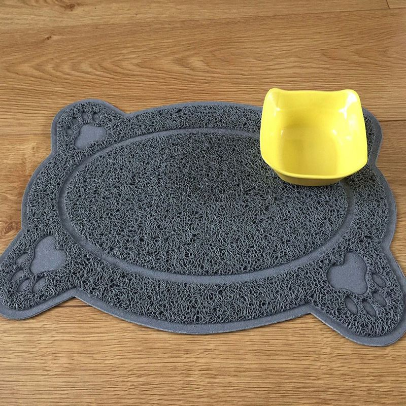 Pet Dog Puppy Cat Feeding Mat Pad Cute PVC Bed Dish Bowl Food Wipe Clean Colorful Water Feed Placemat Feeding Pet Products Py