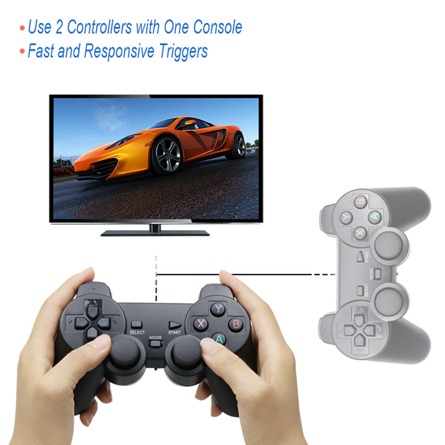 Wireless Gamepad PC For PS3 Android Phone TV Box 2.4G Wireless Joystick 4