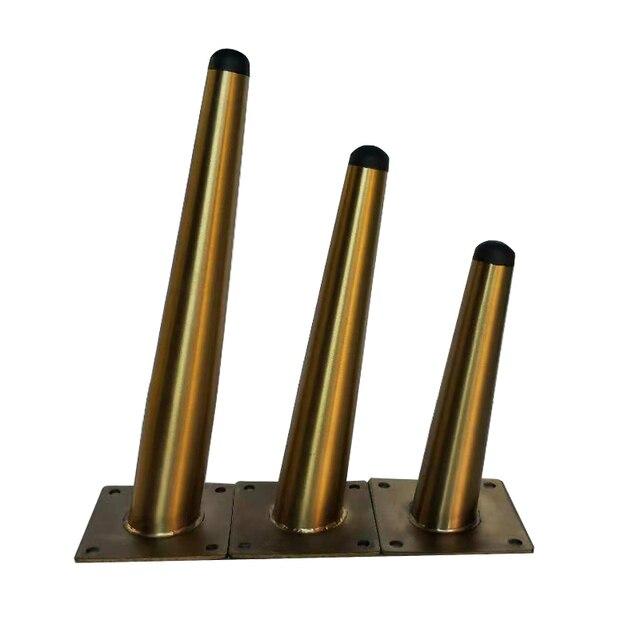Ножки для шкафа из нержавеющей стали, держатели для телевизора, ножки для чайного столика, 4 шт., 10 см/15 см/20 см/25 см/30 см
