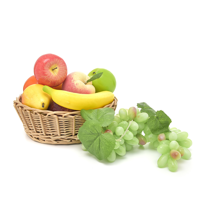Simulation 110 Grape Fake Fruit Vegetables Kids Kitchen Pretend Play Toys For Children Food Game Home Garden Decoration Toy