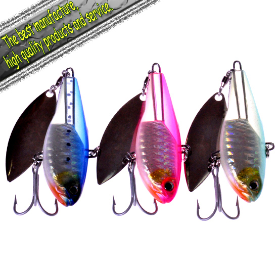 "Free shipping fishing lures Soft plastic fish lead(65mm 30g)-12pcs""ADO SCHEME ONLY 15"" Vibra lure"