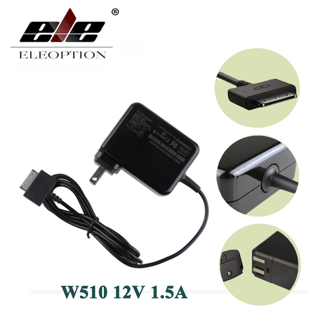 все цены на ELEOPTION 12V 1.5A Tablet PC Chargers AC Power Adapter for Acer W510 Iconia Tab W511 ADP-18TB EU US UK AU Plug онлайн