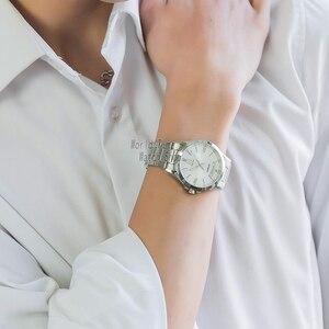 Image 4 - Đồng hồ Đồng hồ Đơn Giản Đồng hồ nam cao cấp hàng đầu thạch anh watche Chống Nước Dạ Quang Nam dây Thể Thao quân đội Đồng Hồ часы relogio masculino reloj hombre erkek kol saati montre homme zegarek meski MTP1381