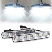 10W 6000K Led Day Lights For All Car Day Running Light Lamp Universal 12V Car Led