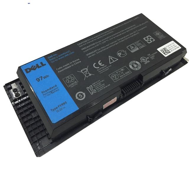 Original 11.1V/97wh  2485MAH laptop Battery 312-1176 451-11742 97KRM X57F1 0TN1K5  FOR Dell  Precision M4600 M4700 M6600 M6700