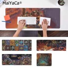 MaiYaCa New Design Hearthstone Natural Rubber Gaming mousepad Desk Mat Free Shipping Large Mouse Pad Keyboards