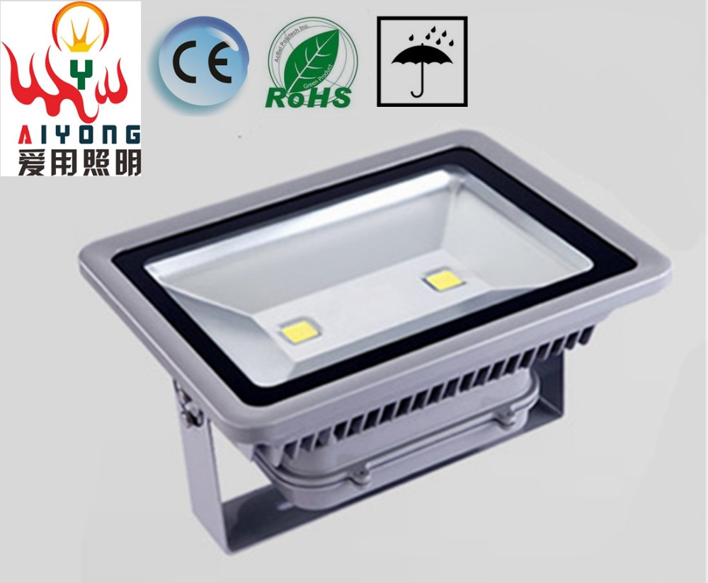 Free shipping led floodlight outdoor basketball court 150w200w site Lighting led plaza lamp projection lamp 100w LED lights