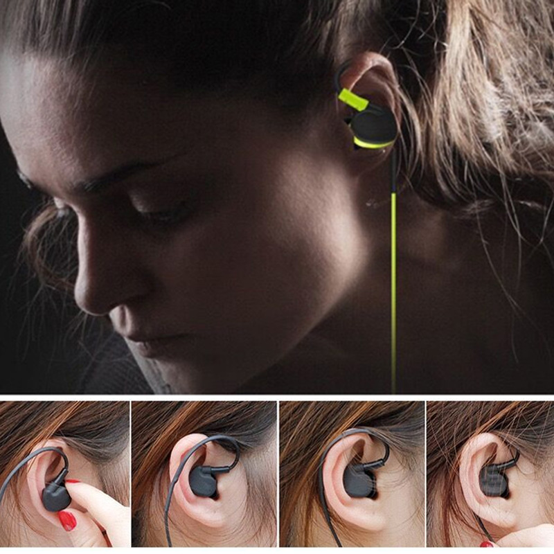 1 Pcs Headset Earphone Earbuds Noise Reduction Waterproof Portable for Mobile Phone Tablet Sport S288