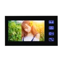 7 «видео домофон дверной звонок Открытый ИК ночного видения камеры безопасности Крытый мониторы для квартиры дома
