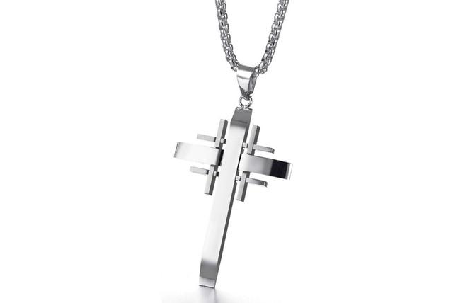 Купить 2020 модное ювелирное изделие мужское ожерелье с крестом нержавеющая
