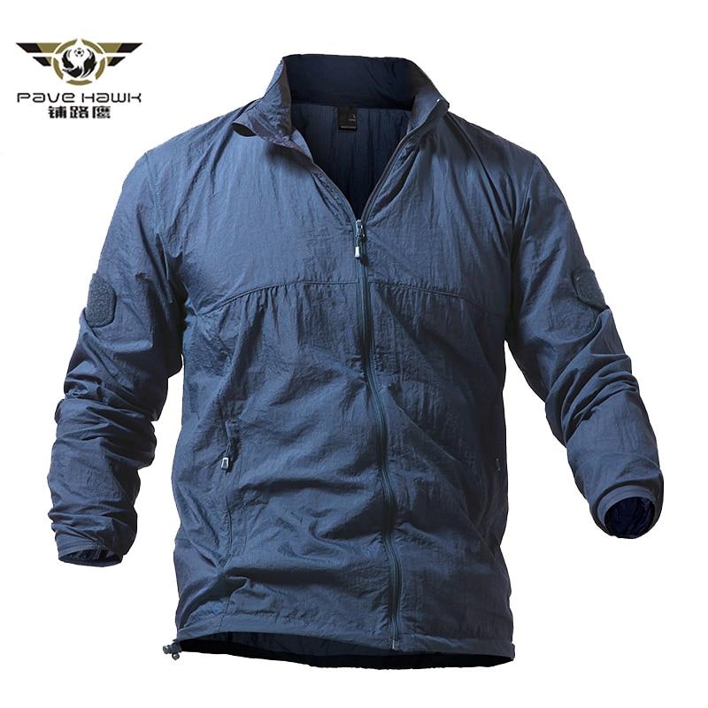 Army Military Jackets Men Summer Thin Waterproof Windbreaker Quick Dry Tactical Skin Jacket UPF 50+ Breathable Raincoat 4XL 5XL