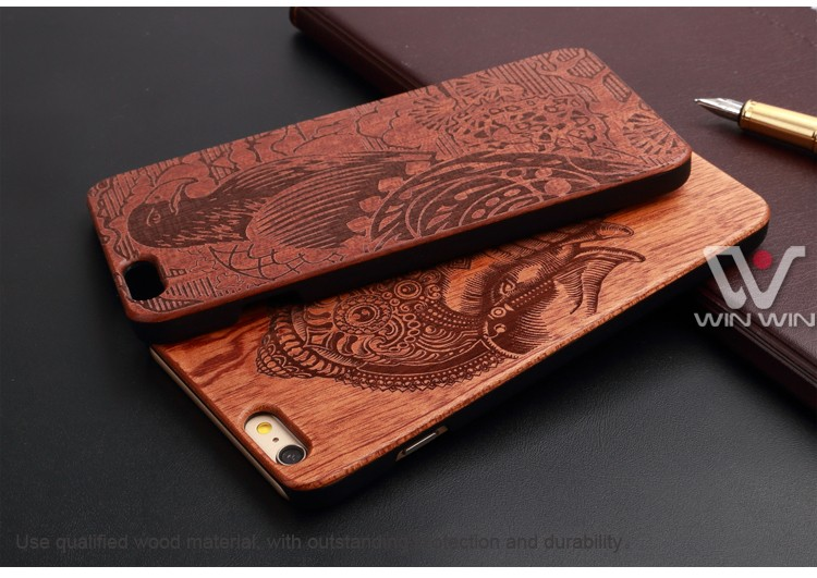 detailed look 57524 ab5bb Details about HOT! NEW Wood Phone Case For iPhone 5 5S 6 6S 6Plus 7 7Plus