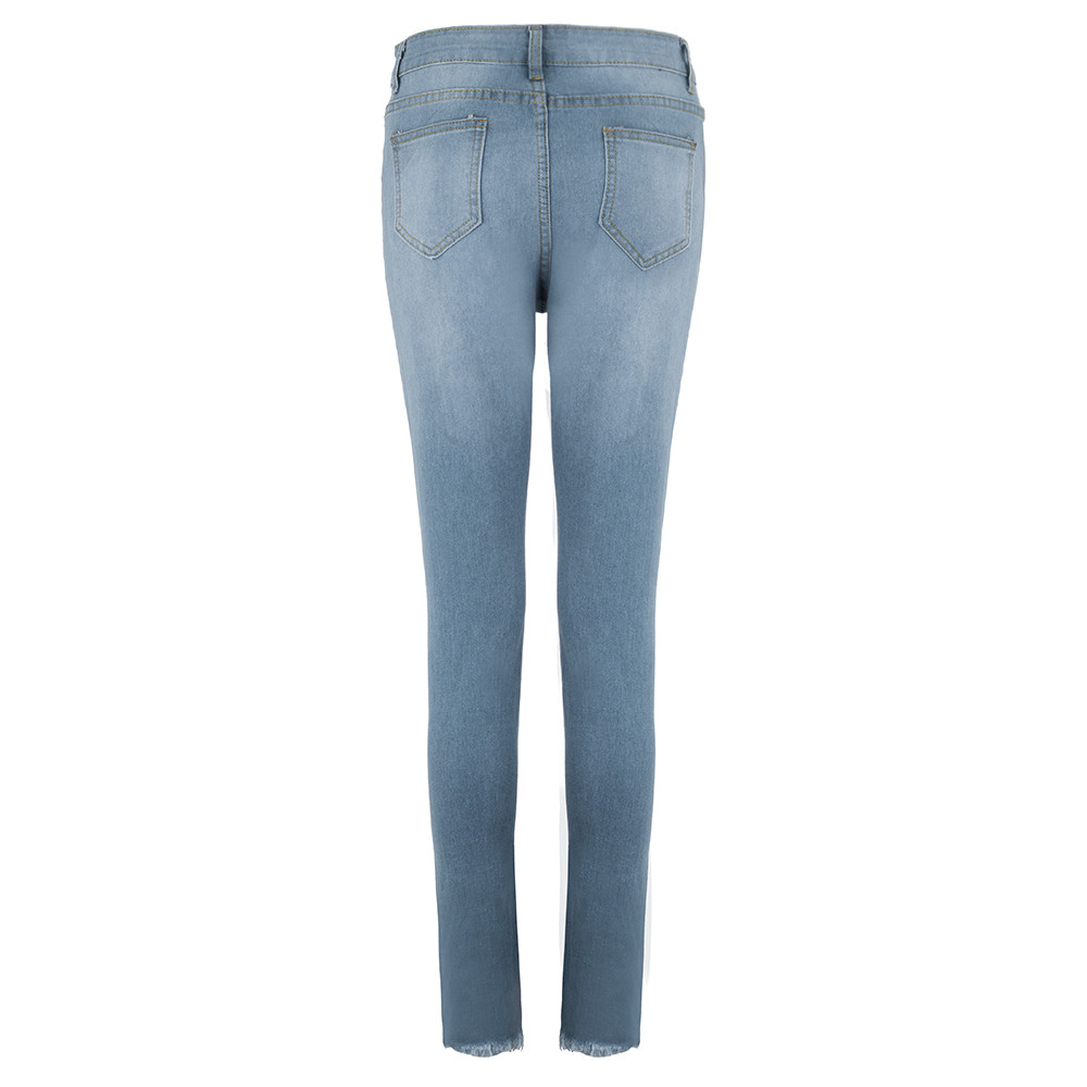 9c43d4175f Luckinyoyo jean mujer mamá pantalones vaqueros novio jeans para mujeres  cintura alta con push up de